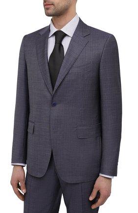 Мужской шерстяной костюм CANALI синего цвета, арт. 21280/19/AA02524 | Фото 2