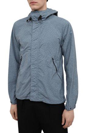 Мужская куртка ASPESI бирюзового цвета, арт. S1 I I116 G402   Фото 3 (Кросс-КТ: Куртка, Ветровка; Рукава: Длинные; Материал внешний: Синтетический материал; Длина (верхняя одежда): Короткие; Стили: Кэжуэл)