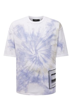 Мужская хлопковая футболка RELIGION голубого цвета, арт. 11TSCG29 | Фото 1