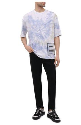 Мужская хлопковая футболка RELIGION белого цвета, арт. 11TSCG29 | Фото 2