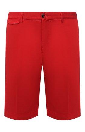 Мужские хлопковые шорты PT TORINO красного цвета, арт. 211-CB BTKCZ00CL1/NU35 | Фото 1