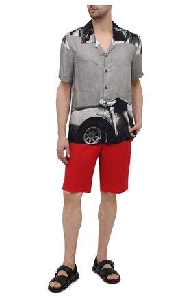 Мужские хлопковые шорты PT TORINO красного цвета, арт. 211-CB BTKCZ00CL1/NU35 | Фото 2