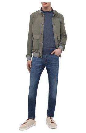 Мужские джинсы PT TORINO синего цвета, арт. 211-C5 VJ05Z10GTL/TX25 | Фото 2