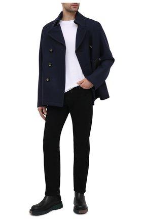 Мужские кожаные сапоги OFF-WHITE черного цвета, арт. 0MID004S21LEA0011010 | Фото 2