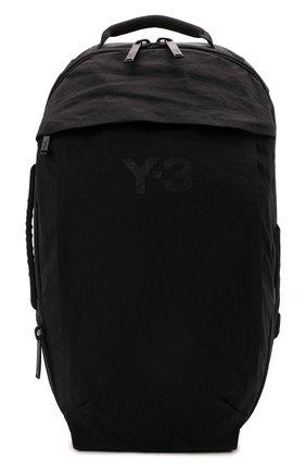 Мужской текстильный рюкзак Y-3 черного цвета, арт. GT6495/M | Фото 1