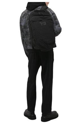 Мужской текстильный рюкзак Y-3 черного цвета, арт. GT6495/M | Фото 2