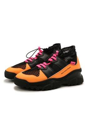 Женские комбинированные кроссовки F_WD разноцветного цвета, арт. FWW36011A/13112 | Фото 1