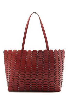 Женский сумка-шопер PACO RABANNE коричневого цвета, арт. 20ASS0198CLF037 | Фото 1