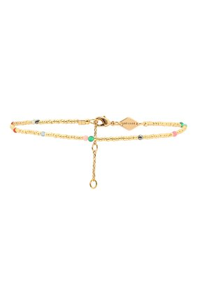 Женский браслет на ногу confetti anklet ANNI LU золотого цвета, арт. 191-50-42   Фото 1