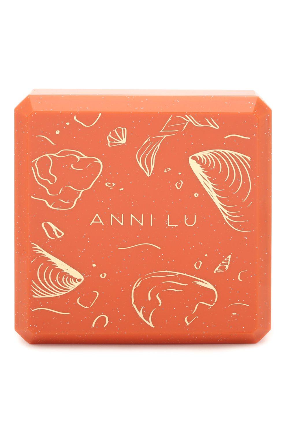 Женский браслет на ногу wave anklet ANNI LU розового цвета, арт. 191-50-45 | Фото 3