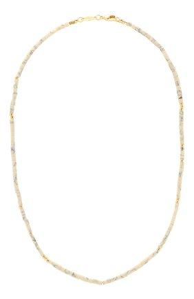 Женское колье ANNI LU белого цвета, арт. 201-20-51   Фото 1