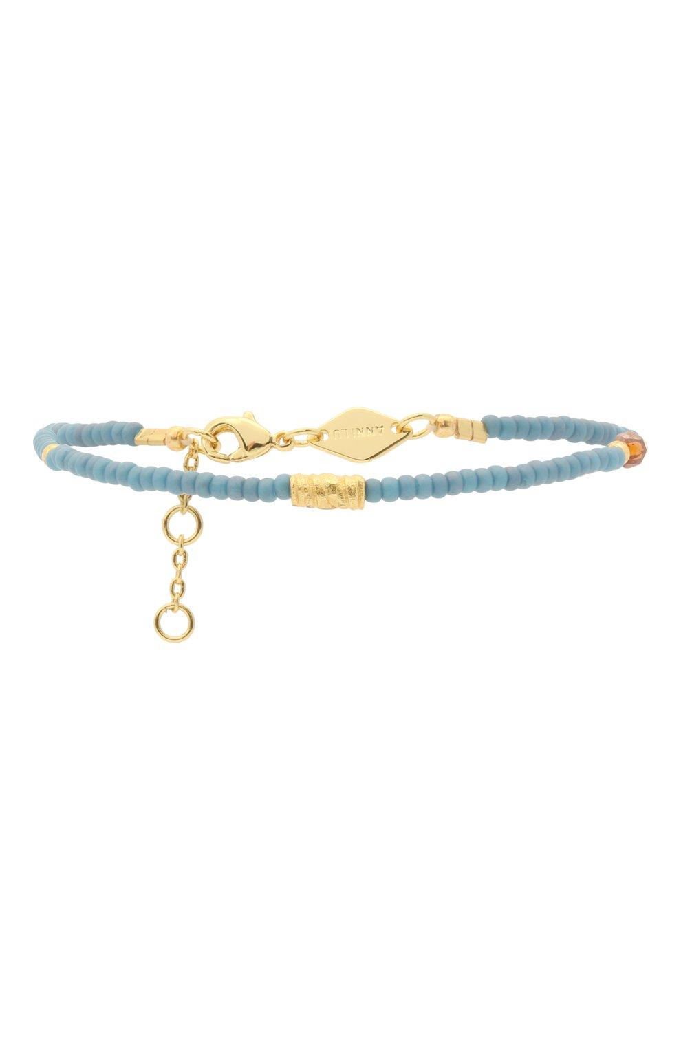 Женский браслет wave chaser ANNI LU голубого цвета, арт. 202-10-02 | Фото 1
