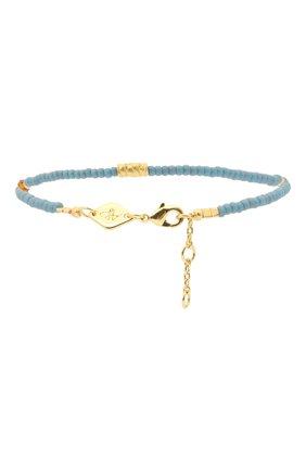 Женский браслет wave chaser ANNI LU голубого цвета, арт. 202-10-02 | Фото 2