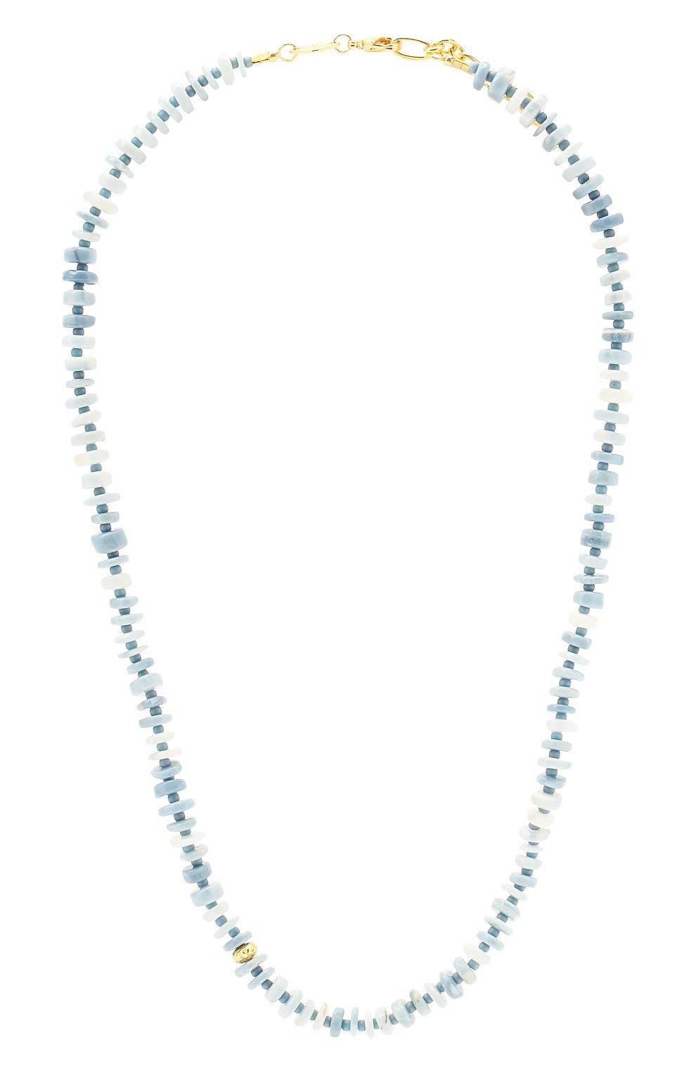 Женское колье the big blue ANNI LU голубого цвета, арт. 202-20-07 | Фото 1