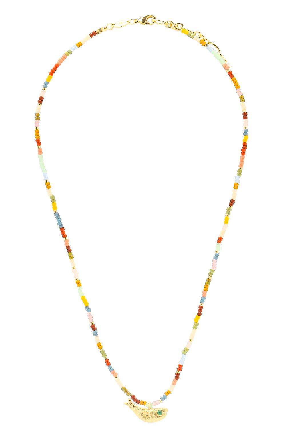 Женское колье ANNI LU разноцветного цвета, арт. 202-20-20 | Фото 1