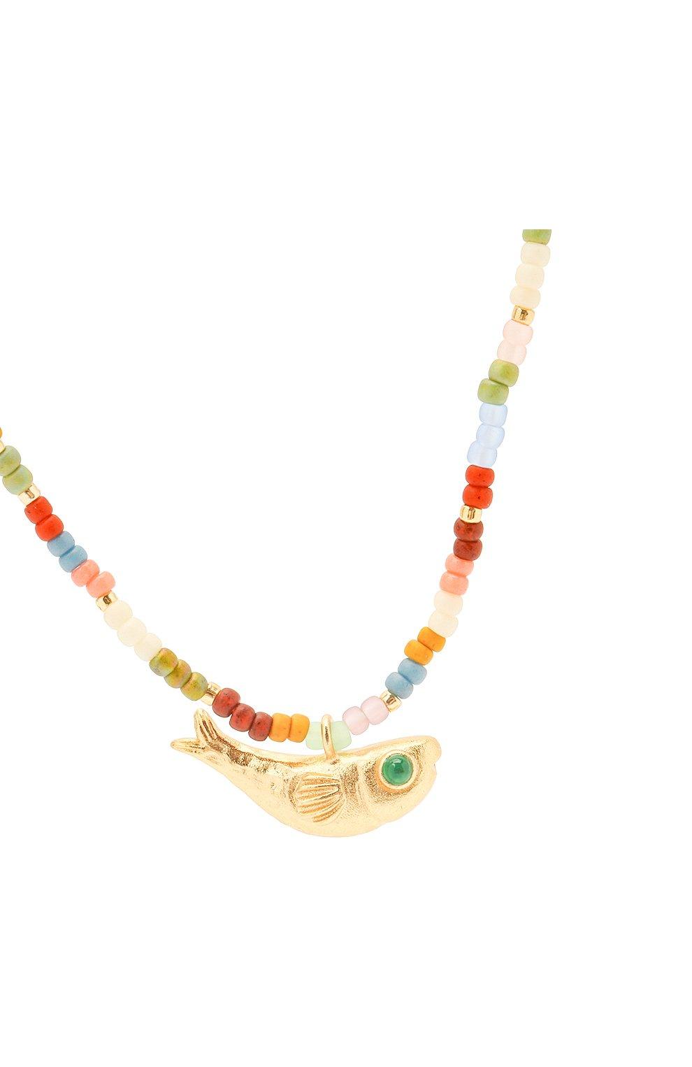 Женское колье ANNI LU разноцветного цвета, арт. 202-20-20 | Фото 3