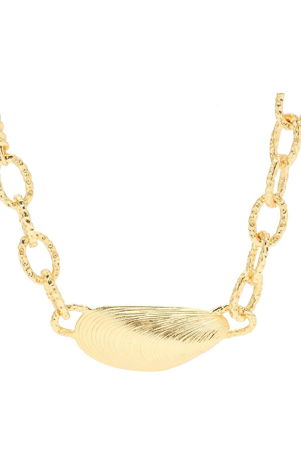 Женское колье ANNI LU золотого цвета, арт. 202-20-26 | Фото 2
