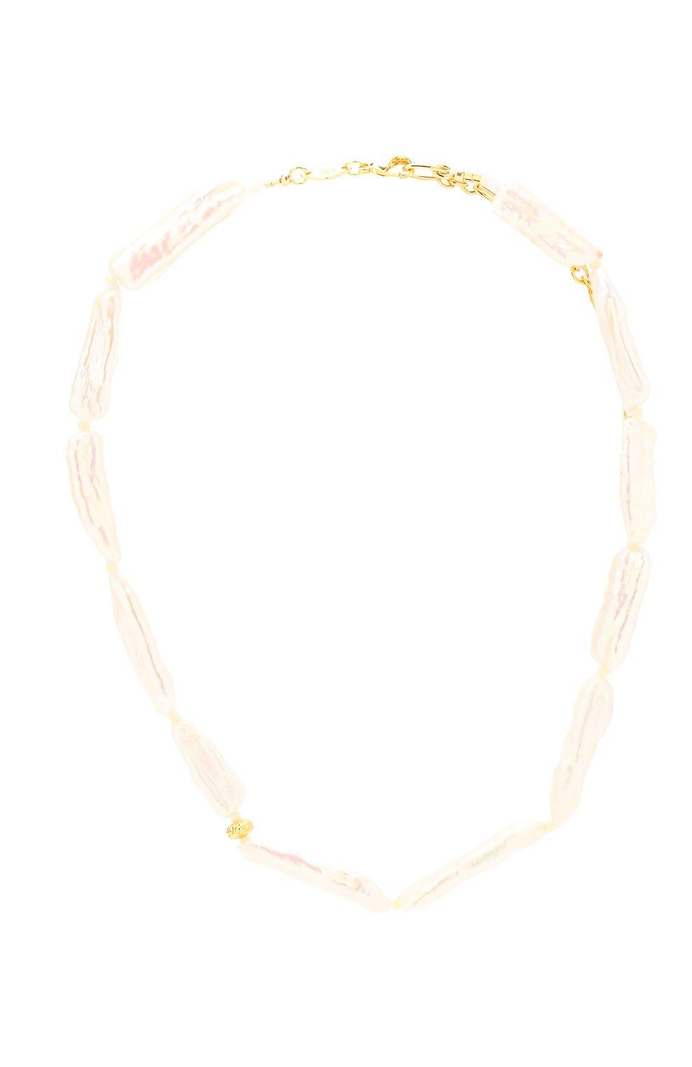 Женское колье the great white ANNI LU белого цвета, арт. 202-20-42 | Фото 1