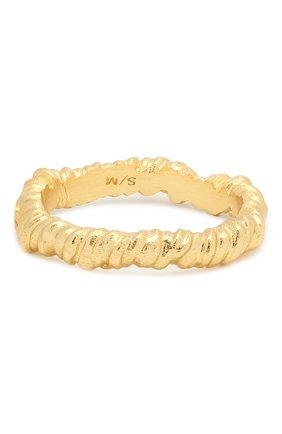 Женское кольцо seaweed ANNI LU золотого цвета, арт. 202-70-43 | Фото 2