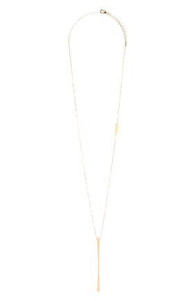 Женское колье BRUNELLO CUCINELLI золотого цвета, арт. MC0W9LA27 | Фото 1