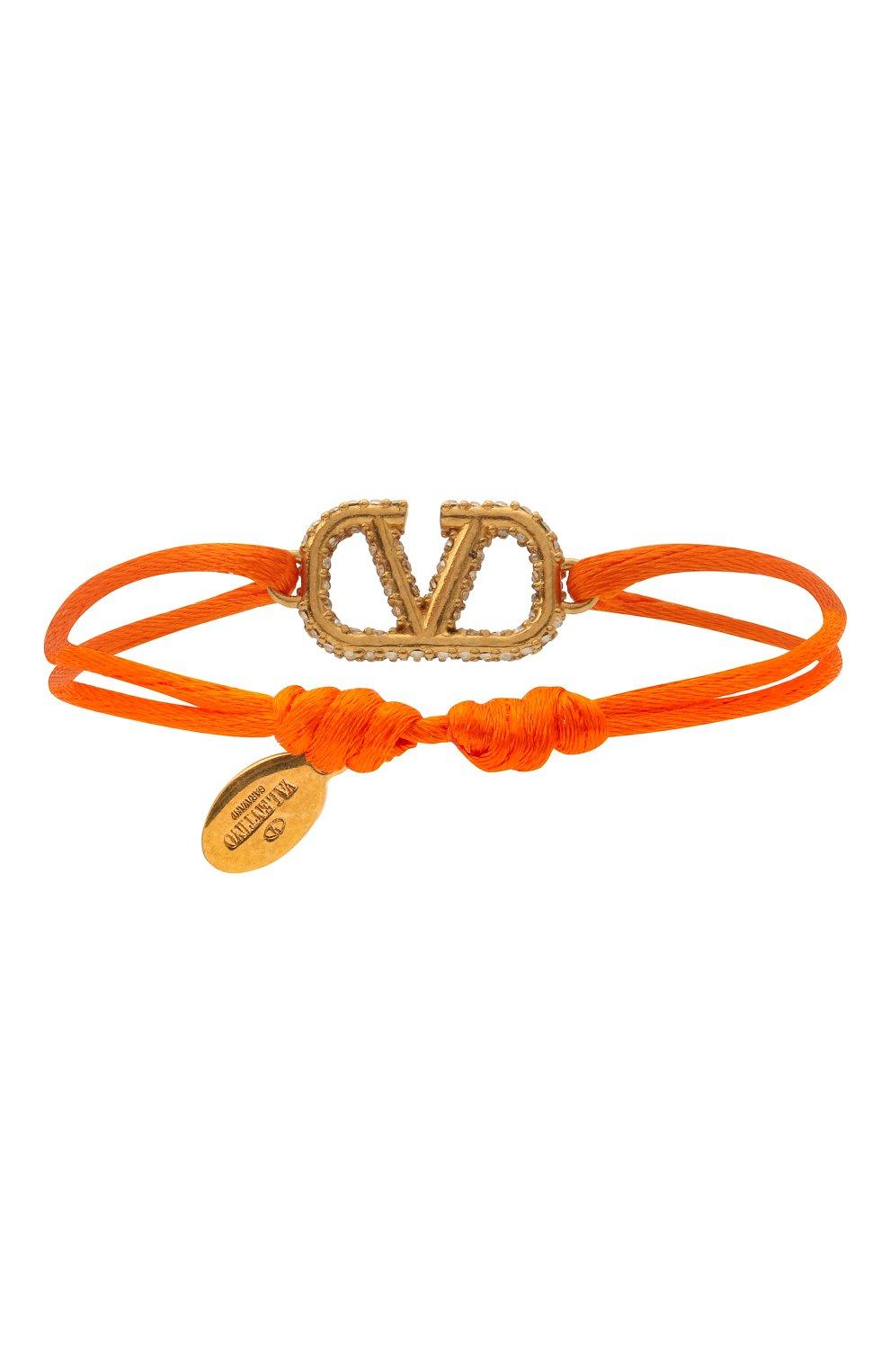 Женский браслет valentino garavani VALENTINO оранжевого цвета, арт. VW0J0F81/YAB | Фото 2
