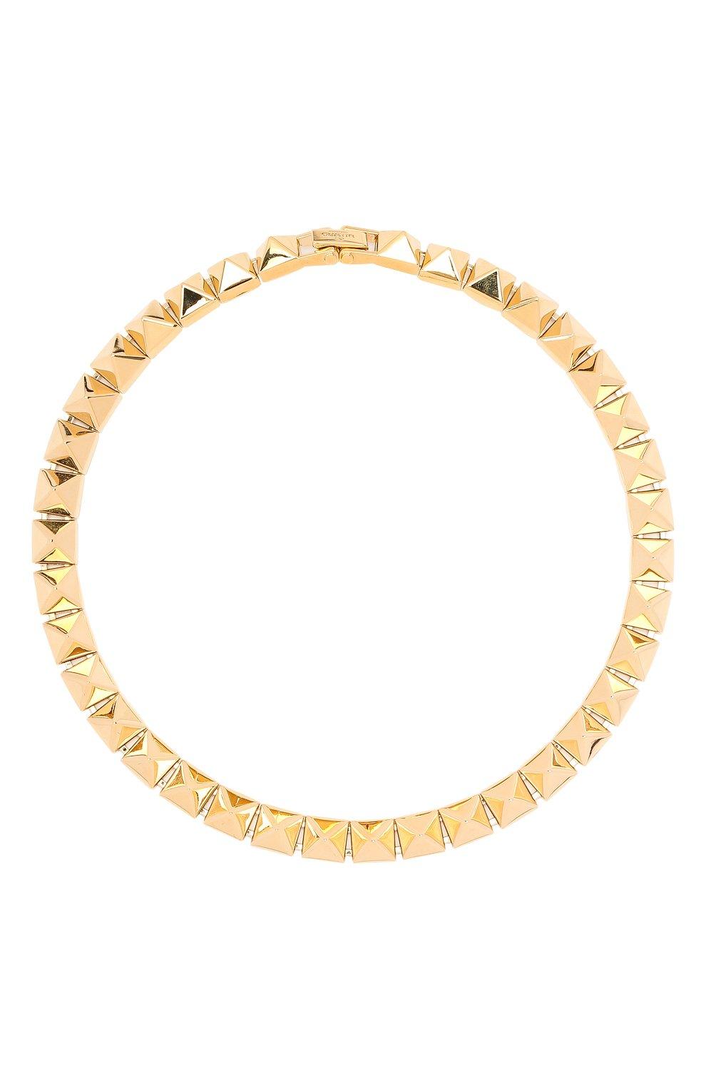 Женское колье valentino garavani VALENTINO золотого цвета, арт. VW2J0H46/MET   Фото 1