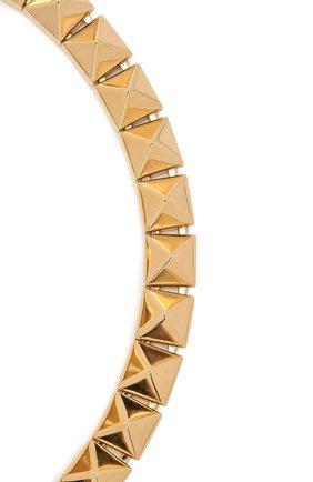 Женское колье  VALENTINO золотого цвета, арт. VW2J0H46/MET   Фото 2