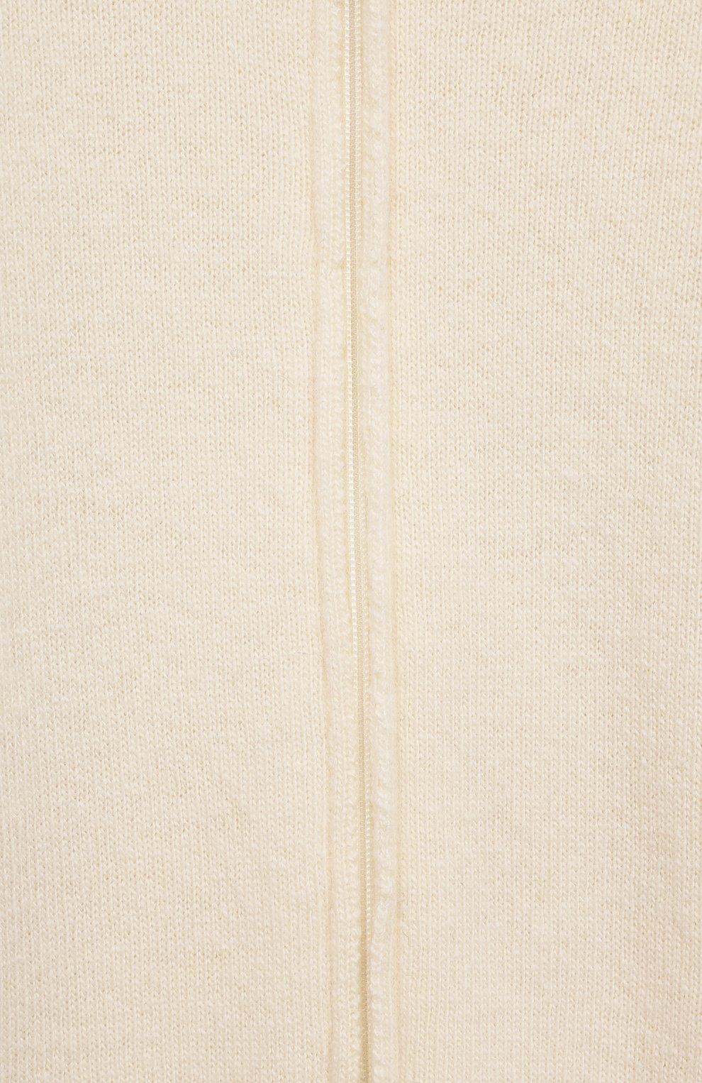 Детский кашемировый комбинезон WOOL&COTTON бежевого цвета, арт. KMLBR   Фото 3