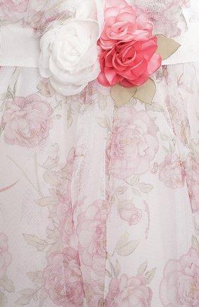 Женский платье MONNALISA разноцветного цвета, арт. 397902 | Фото 3