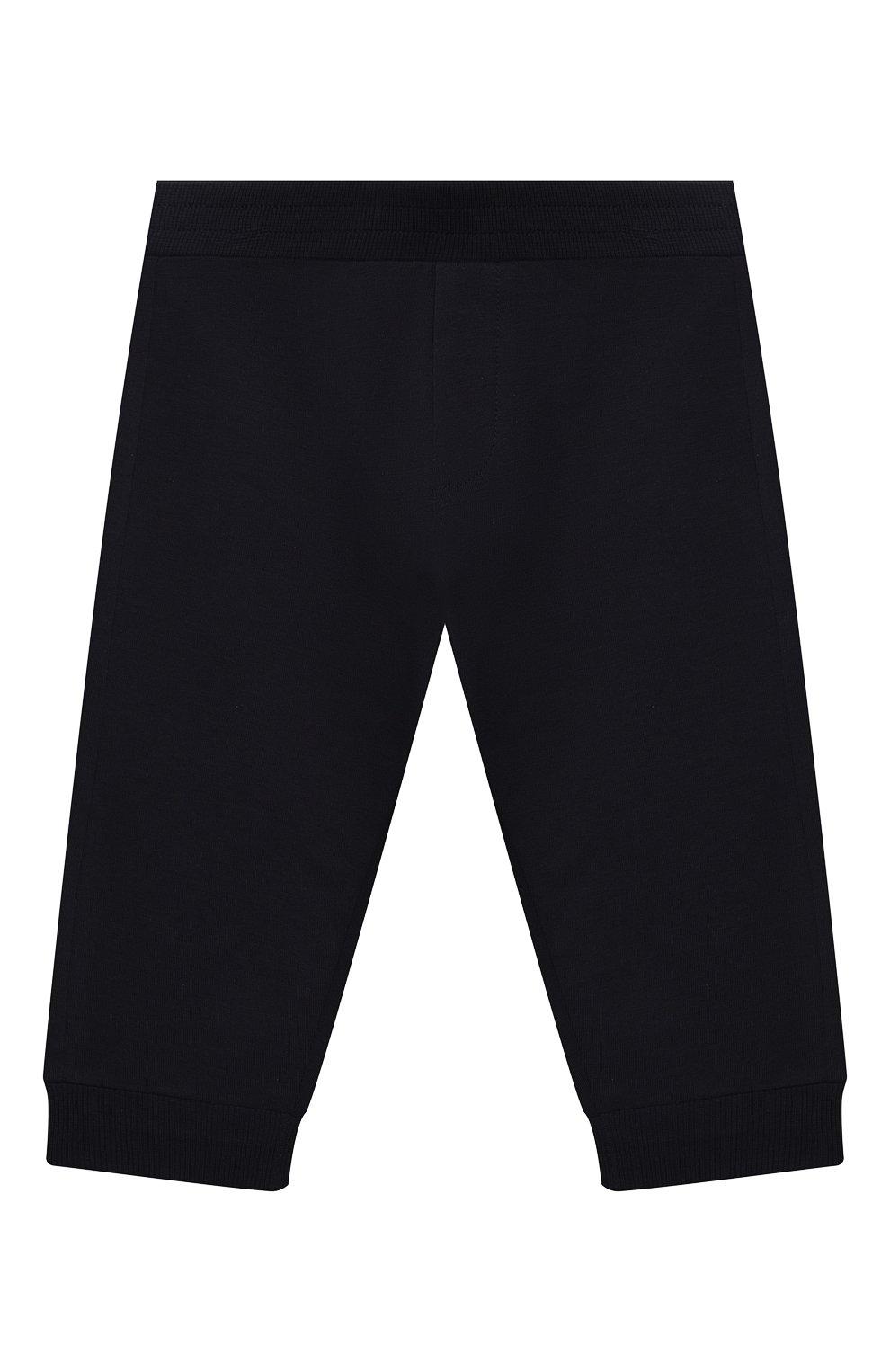 Детский комплект из толстовки и брюк MONCLER темно-синего цвета, арт. G1-951-8M745-20-809AC | Фото 4