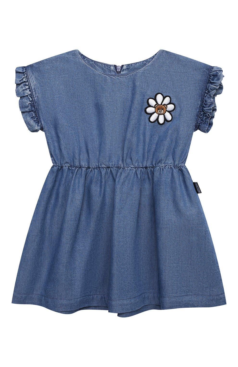 Женский платье MOSCHINO синего цвета, арт. MDV08Q/L0E05 | Фото 1