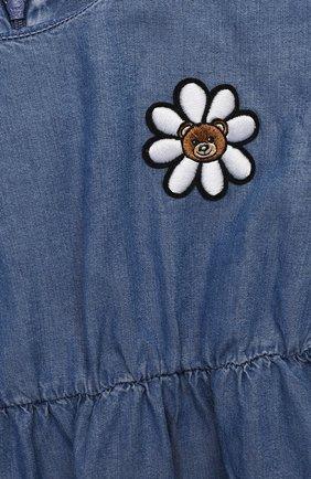 Женский платье MOSCHINO синего цвета, арт. MDV08Q/L0E05 | Фото 3