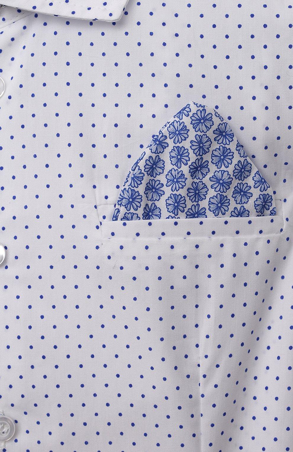 Детский комплект из трех предметов ALETTA синего цвета, арт. SET16A5/4A-8A | Фото 8