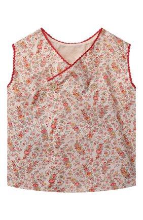 Детский комплект из топа и шорт GUCCI разноцветного цвета, арт. 642026/XWAN8   Фото 2