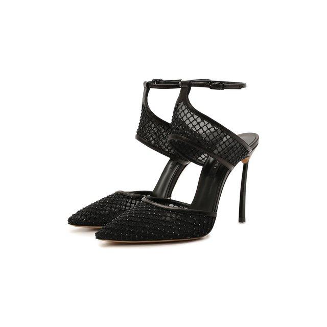 Текстильные туфли Casadei