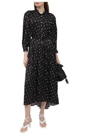 Женские кожаные босоножки LE SILLA белого цвета, арт. 5143S080H1PPCHI   Фото 2
