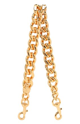 Женские ремень для сумки la medusa VERSACE золотого цвета, арт. DP3I149/D3ABS   Фото 1