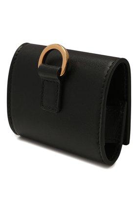Кожаный чехол для airpods pro VERSACE черного цвета, арт. DPY8499/DVTME3 | Фото 2