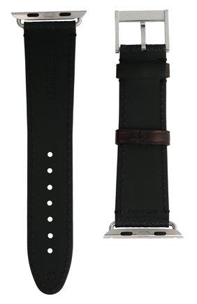 Ремешок для apple watch 44mm BERLUTI черного цвета, арт. X217143 | Фото 2