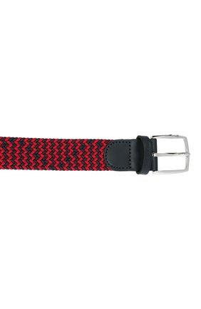 Мужской комбинированный ремень PAUL&SHARK красного цвета, арт. 21416003/GSJ | Фото 3