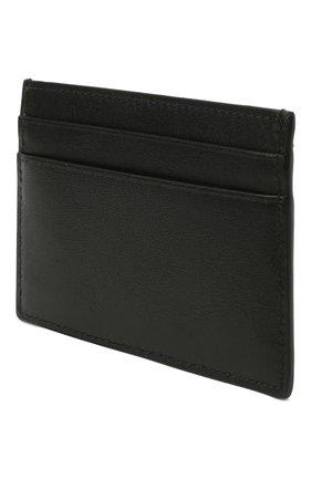 Мужской кожаный футляр для кредитных карт BRIONI черного цвета, арт. 0HSU0L/P9721 | Фото 2