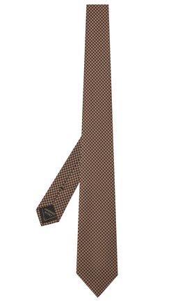 Мужской комплект из галстука и платка BRIONI светло-коричневого цвета, арт. 08A900/P0451 | Фото 2