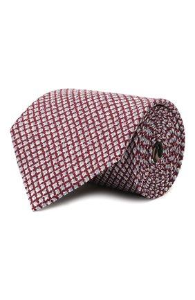 Мужской комплект из галстука и платка BRIONI бордового цвета, арт. 08A900/P040Z   Фото 1