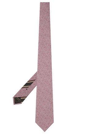 Мужской комплект из галстука и платка BRIONI бордового цвета, арт. 08A900/P040Z   Фото 2