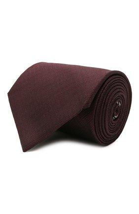 Мужской шелковый галстук BRIONI коричневого цвета, арт. 062I00/P0484 | Фото 1