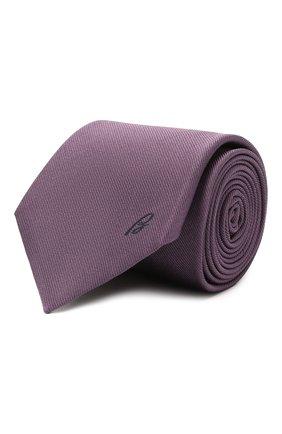 Мужской шелковый галстук BRIONI фиолетового цвета, арт. 061D00/0943C | Фото 1