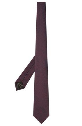 Мужской шелковый галстук BRIONI коричневого цвета, арт. 061A00/P0426 | Фото 2