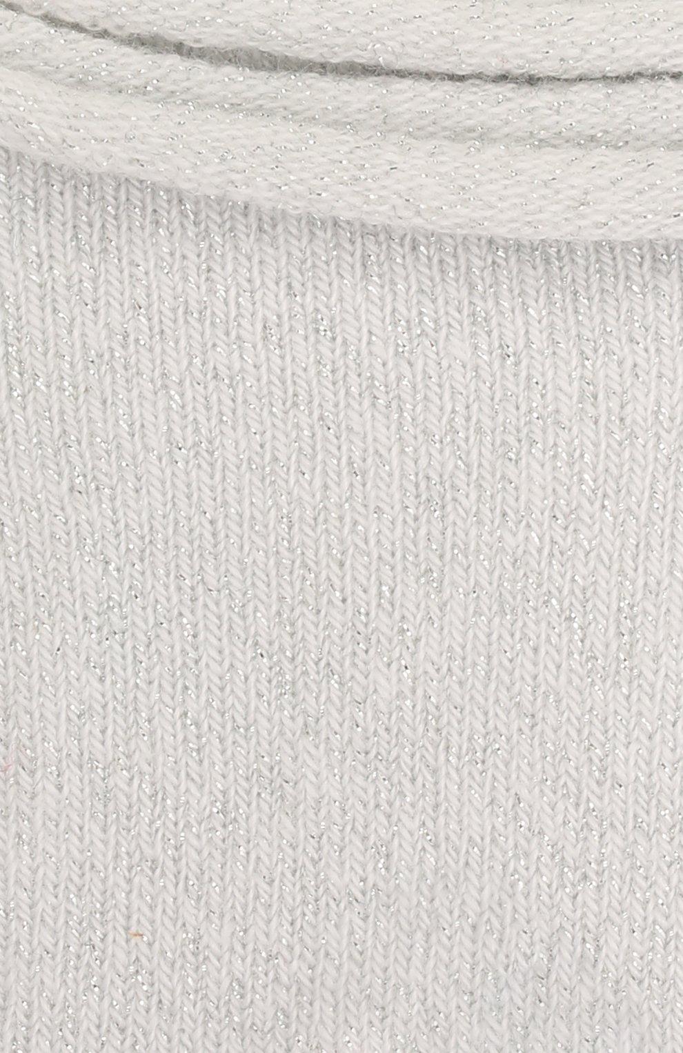Детские носки FALKE белого цвета, арт. 12174.   Фото 2 (Материал: Текстиль, Хлопок)