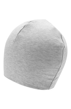 Детского хлопковая шапка MOSCHINO серого цвета, арт. H0X00Z/LDA25 | Фото 2