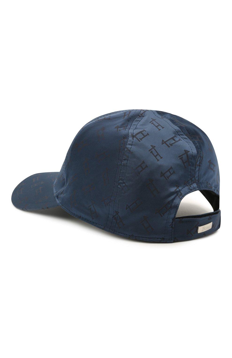 Детская бейсболка HERNO синего цвета, арт. BER002K/12289   Фото 2